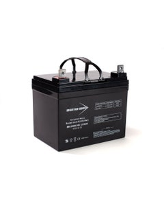 Bright Way Replacement Battery for12V 35AH U1 Rechargeable AGM Lawnmower Battery for Gravely Corporation