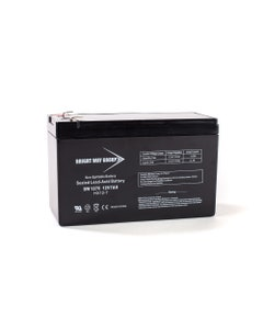 Bright Way Replacement Battery for Para Systems Pro 650 White 12V 12AH F2 UPS