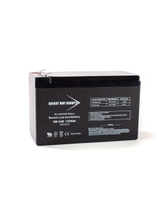 Bright Way Replacement Battery for Toro Titan ZX6000 12V 9AH F2 Lawn and Garden